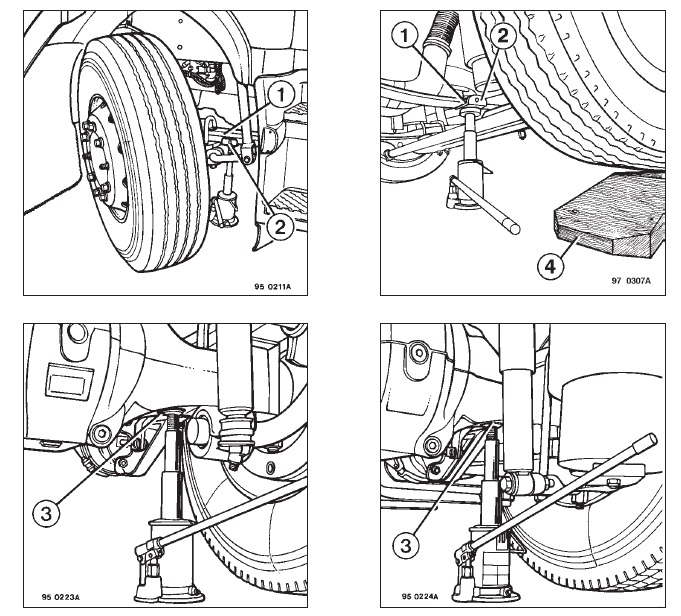 Мануал по эксплуатации Renault Trucks PREMIUM с моторами 220 dCi, 270 dCi, 320 dCi, 370 dCi, 420 dCi