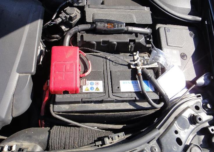 аккумулятора для автомобиля renault