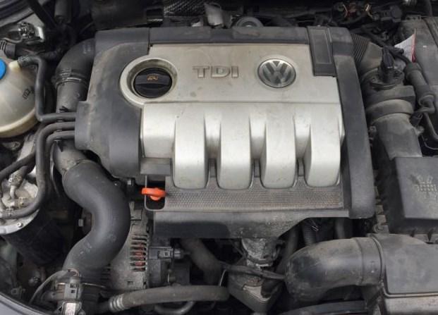 Фото двигателя фольксваген пассат б6